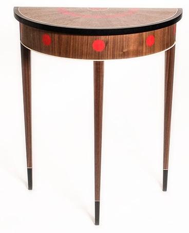 Dot Demilune Table, DC Furniture