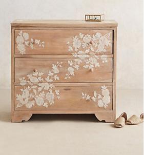 Pearl Inlay Dresser, Anthropologie