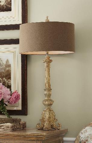 Acanthus Lamp, Soft Surroundings