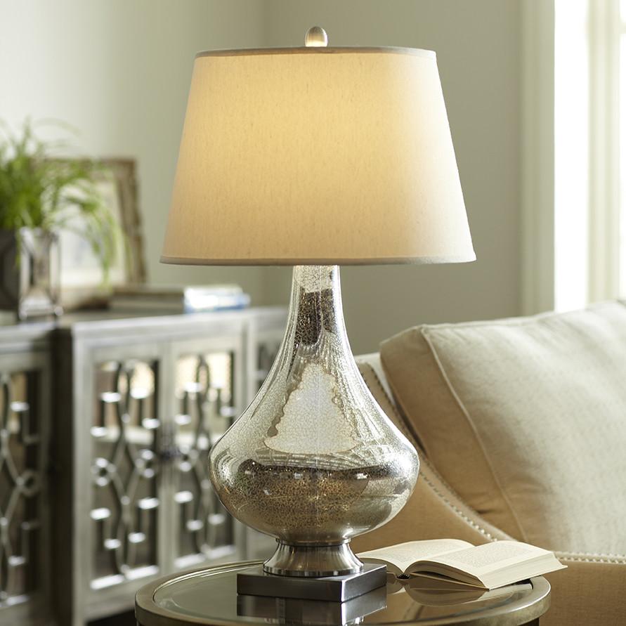 Copley Mercury Table Lamp, Birch Lane