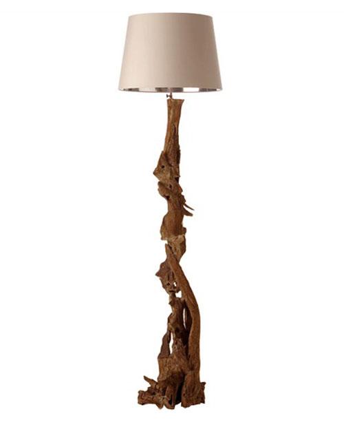 Nantcuket Driftwood Floor Lamp, FDO