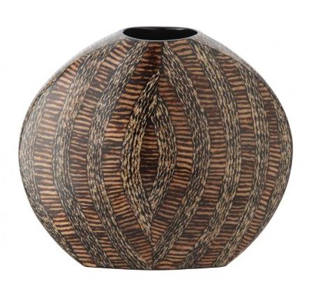 Sphere Vase with Coconut Twigs, Kouboo