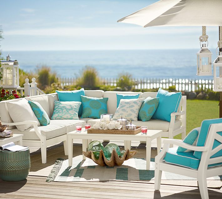 Build Your Own - Hampstead Painted Sectional Components, Pottery Barn