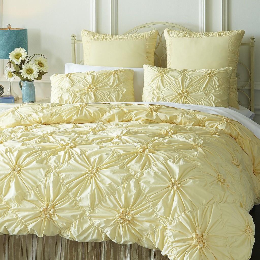 Savannah Bedding & Duvet (Lemon), Pier 1 Imports