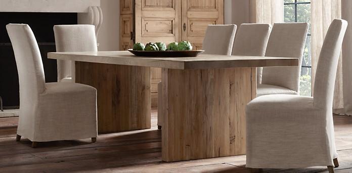 Reclaimed Russian Oak Plank, Restoration Hardware