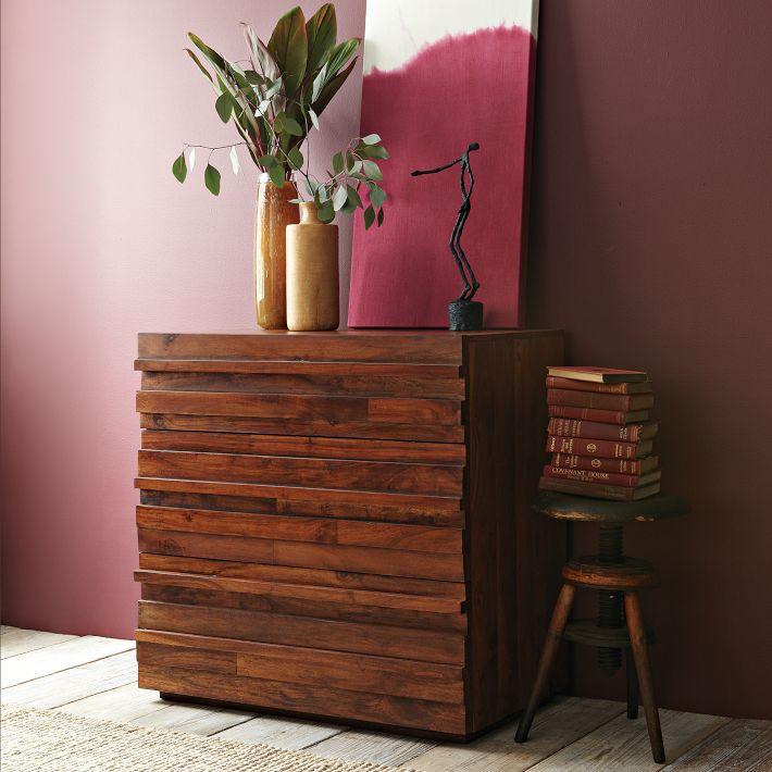 Stria 3-Draer Dresser, West Elm