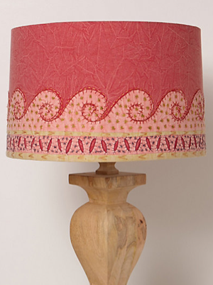 Embroidered Jaffa Lampshade, Anthropologie