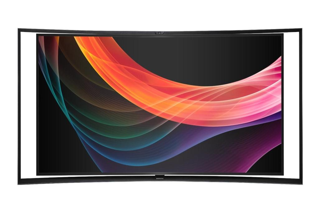 KN55S9C Curved Panel Smart 3D OLED HDTV, Samsung