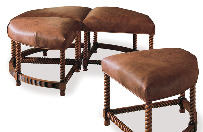 4329-000 Ottoman, Harden Furniture