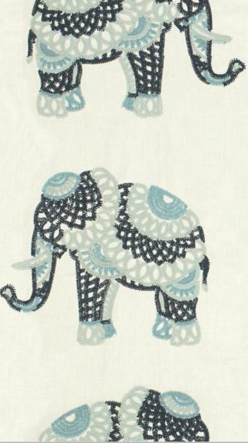 Kravet Couture Elephant Stitch Indigo 33080.515