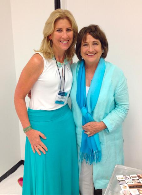 Lisa Newsom (of Veranda Magazine) and me