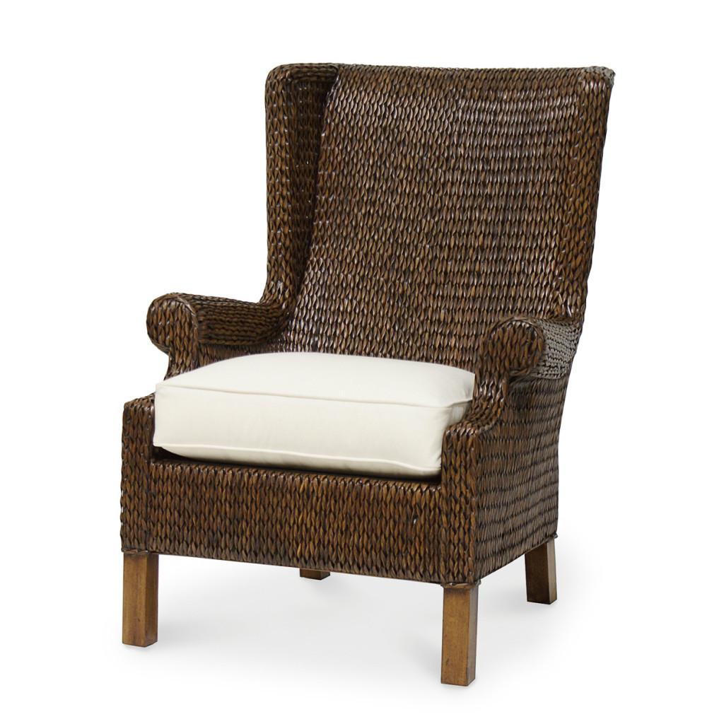 Sweaterweave Wing Chair, Palecek