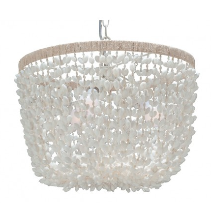 Inverted Pendant Lamp in Bubble Seashell, Kouboo