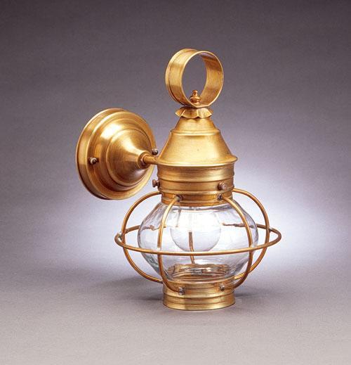 Glass Onion Wall Lantern Caged, Cape Cod Lanterns
