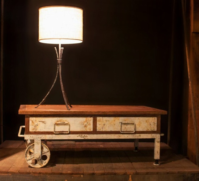 Cardiff Coffee Table, Stone County Ironworks