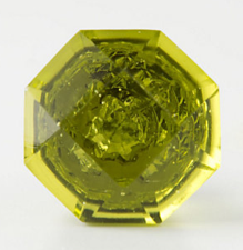 Crystal Octagon Knob, Anthropologie