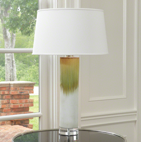 Stria Ceramic Lamp, Global Views