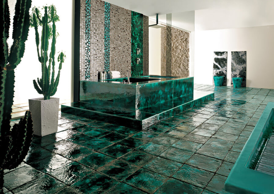 Tile Mosaics Meet Modern Technology