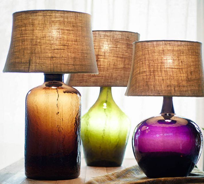 Clift Glass Table Lamp, Pottery Barn
