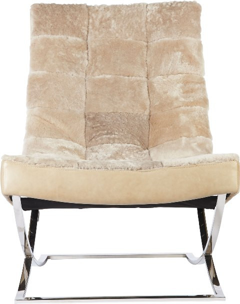 Jade Leather Chair, Lillian August