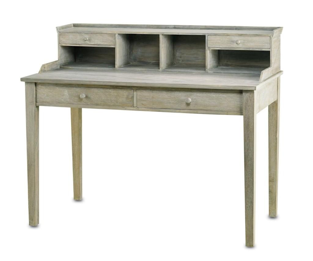 Currey and Company 3097 Meacham - Desk, Distressed Truffle Finish, Currey & Company (Amazon.com)