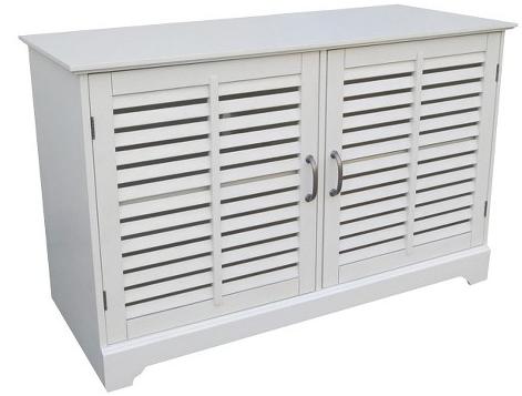 Threshold™ Shuttered Door TV Stand, Target