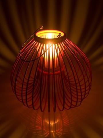 Rizal Pear Bamboo Lantern. Kouboo