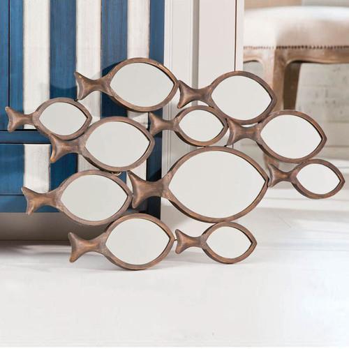 Cape Craftsmen Fish Wall Mirror, Wayfair