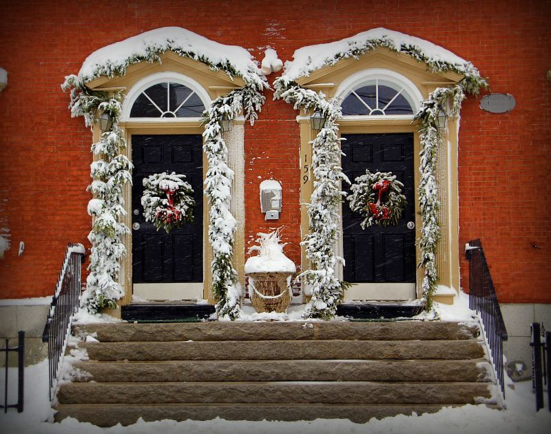 Get Your Front Door Christmas Ready!