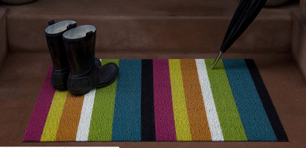 Shag Bold Stripe, Chilewich