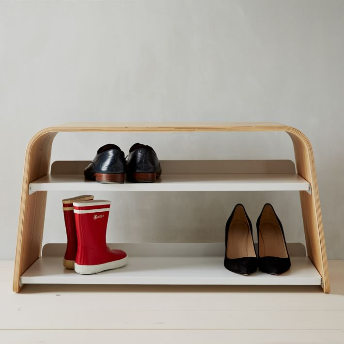 Universal Expert Shoe Bench, West Elm