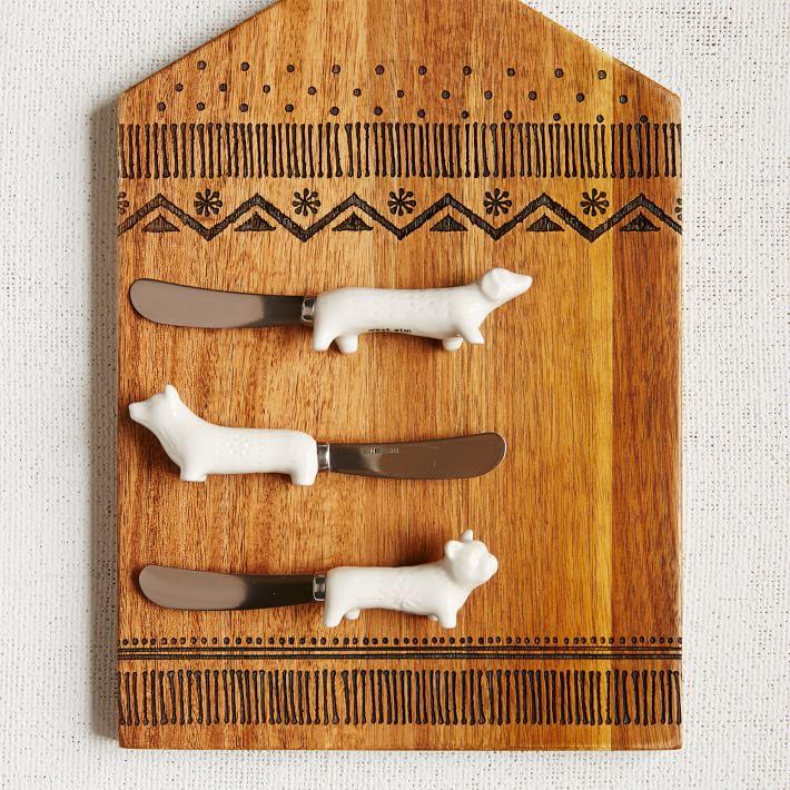 Sweater Dog Spreader Set, West Elm