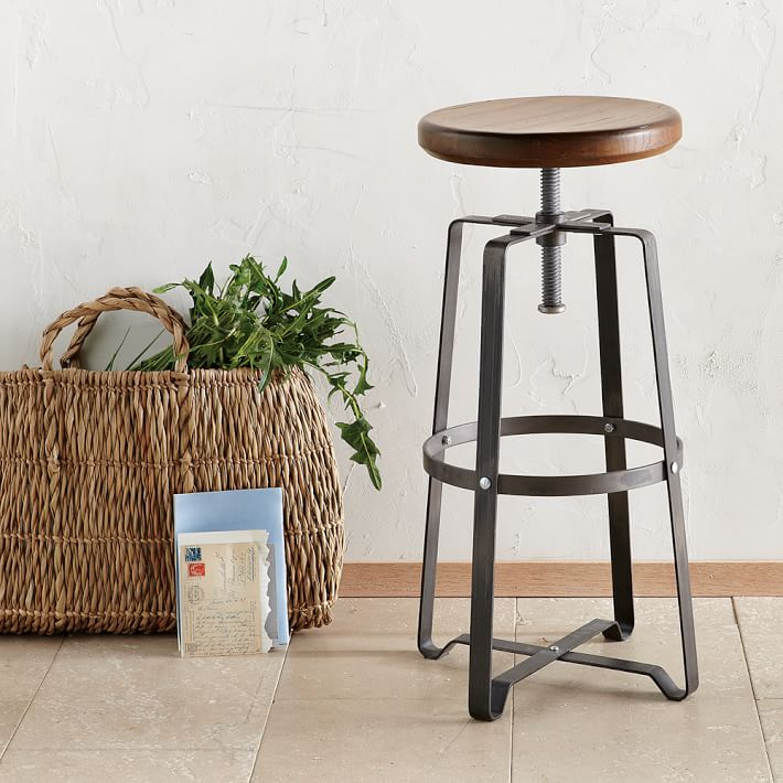 Industrial Stool, West Elm