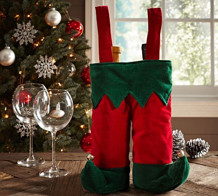 Elf Pants Wine Bag, Pottery Barn