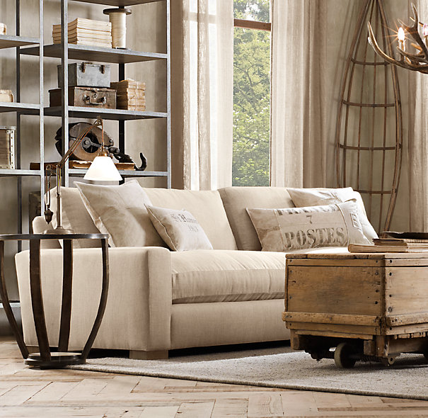 Maxwell Upholstered Sofa, Restoration Hardware