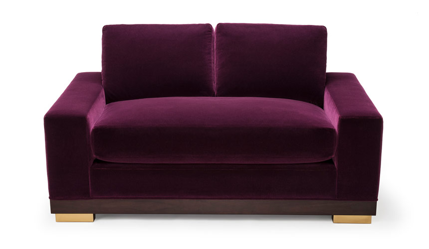 Dyad Two Seat Sofa, Amy Somerville