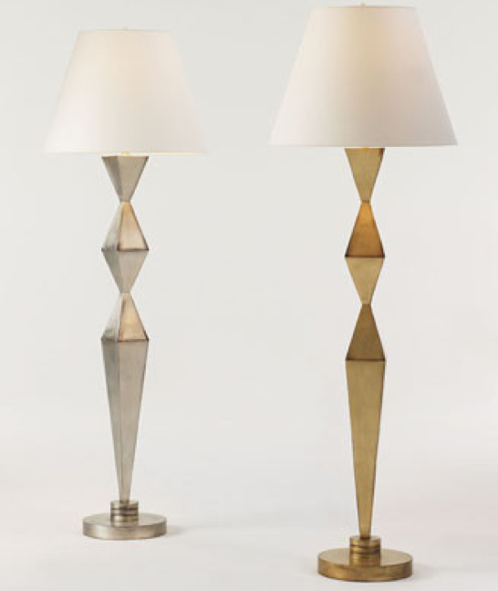 Picasso Floor Lamp (Silver), Bunny Williams Home