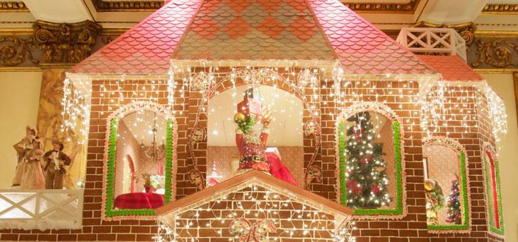The Fairmont San Francisco Gingerbread House