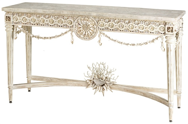 Devereux Console Table, Currey & Company
