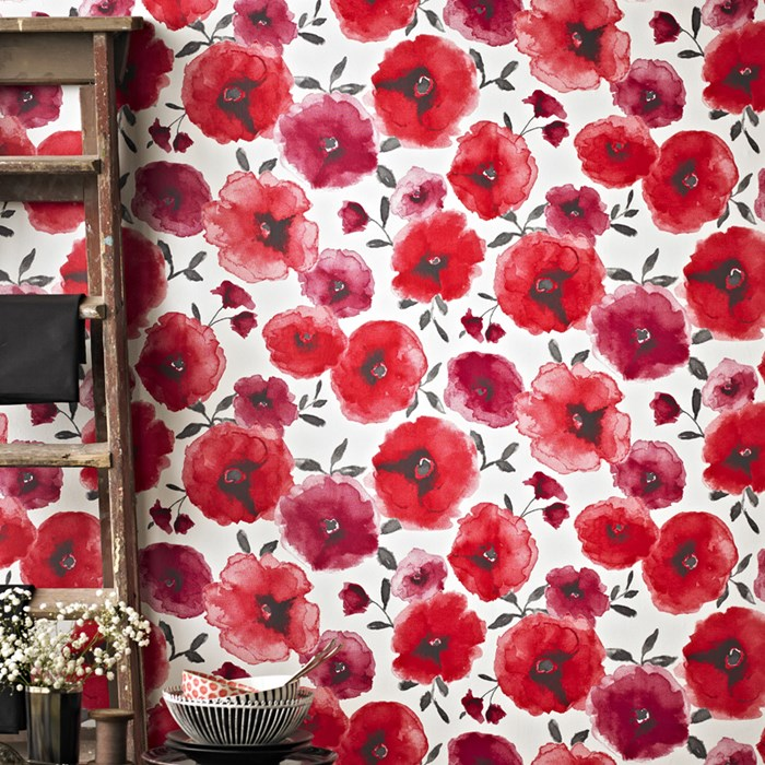 Poppies Red, Graham & Brown
