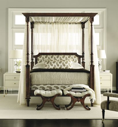 Bella Queen Canopy, Alexa Hampton (Available at Hickory Chair)