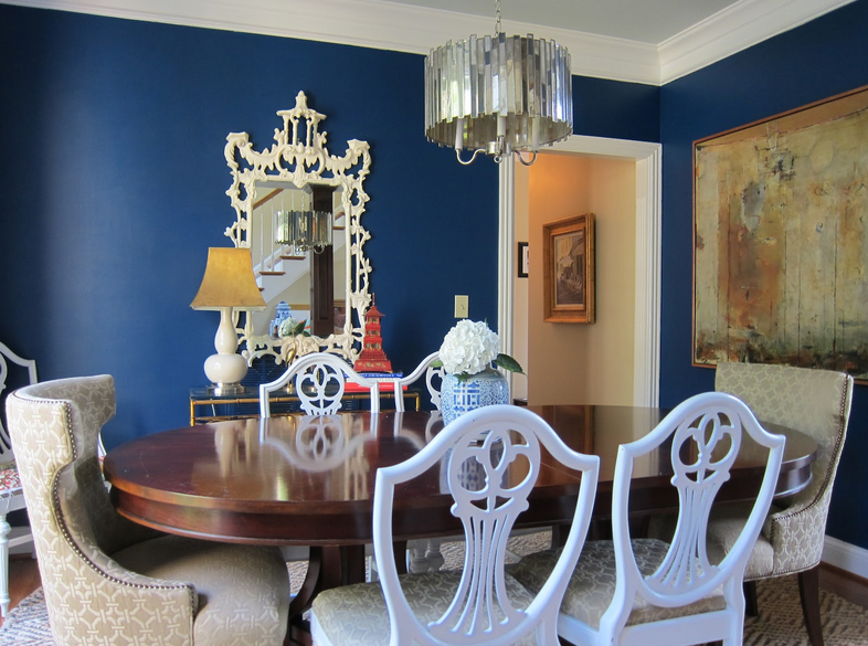 Champion Cobalt (Benjamin Moore) via My Interior Life