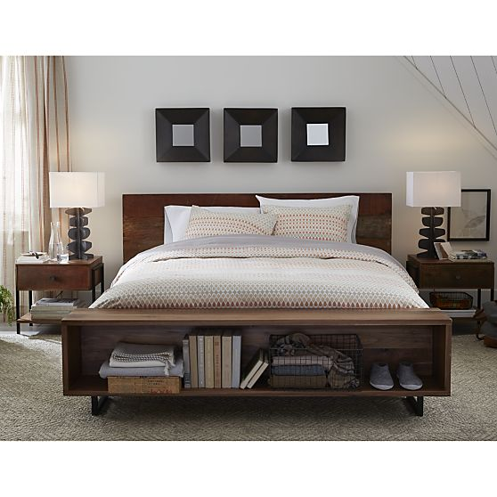 Atwood Bed, Crate & Barrel