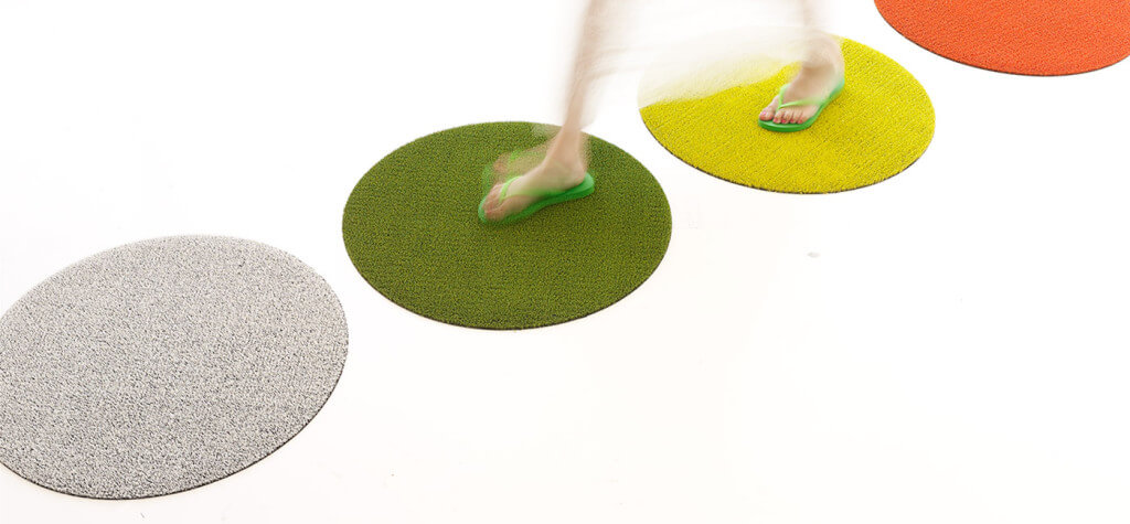 Featured Product of the Week:  Chilewich Shag Dot Mats