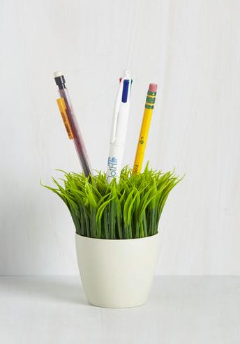 Ideas in Bloom Desk Organizer- ModCloth