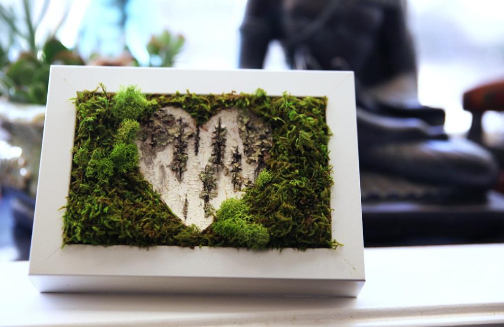 Handcrafted Botanical Wall Art- Artisan Moss