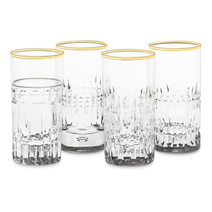 Mixed Vintage Shot Glasses- Williams Sonoma