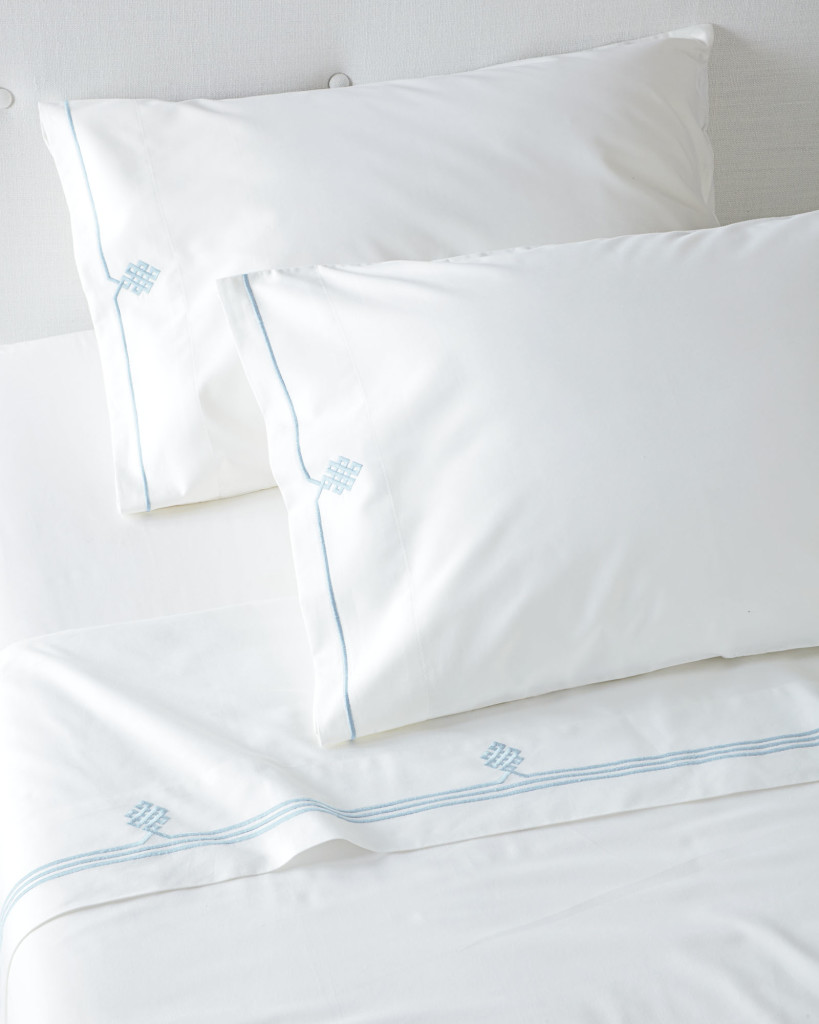 Embroidered Sheet Set- Serena & Lily